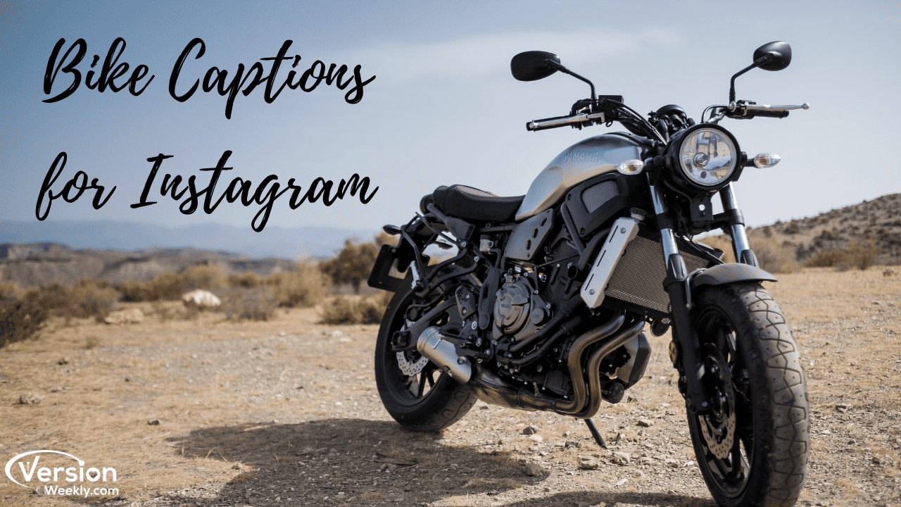 Trendy Catchy Bike Captions For Instagram In 2020 Best Instagram Bike Riding Captions Quotes For Bike Lovers Version Weekly
